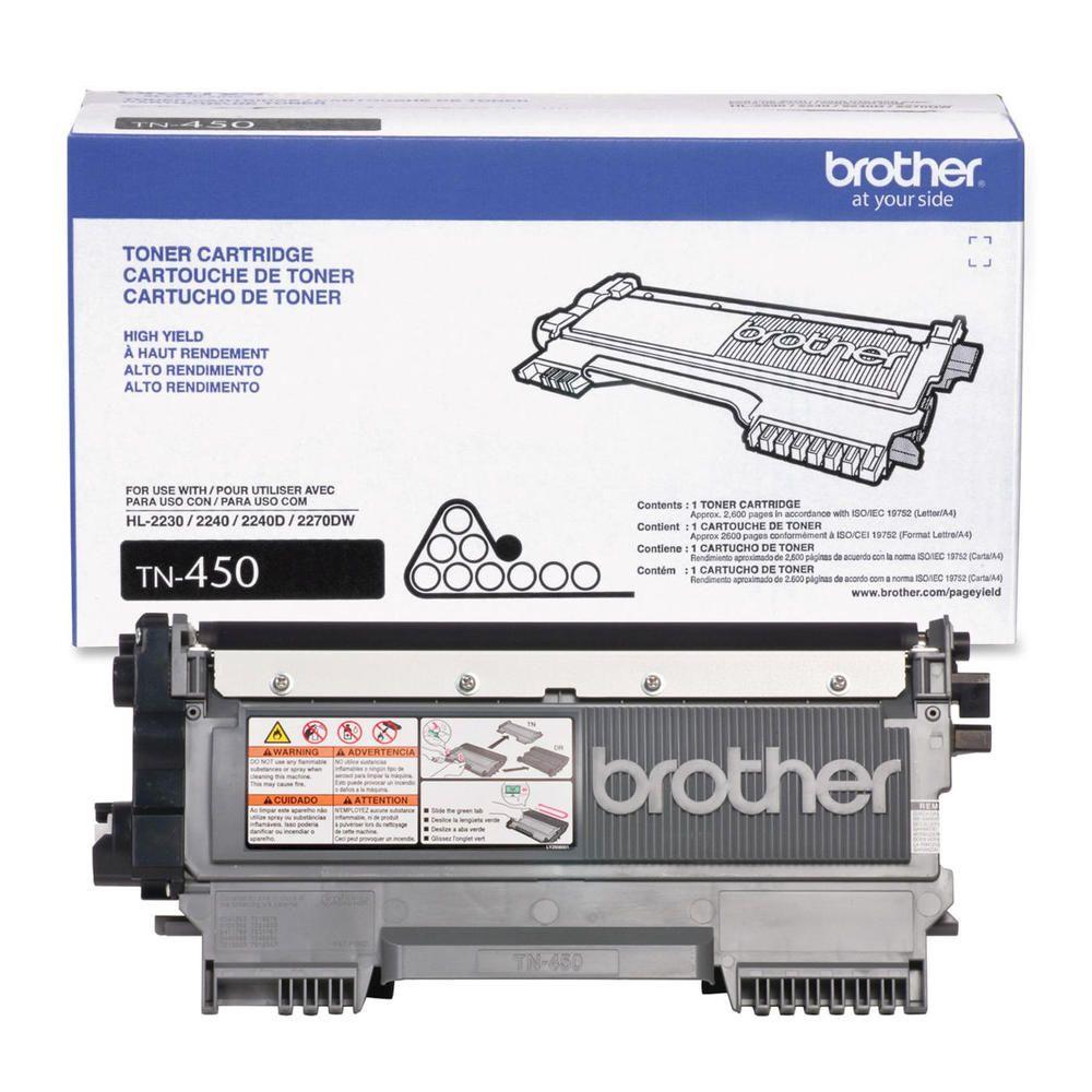 Toner Preto Original Brother TN-450