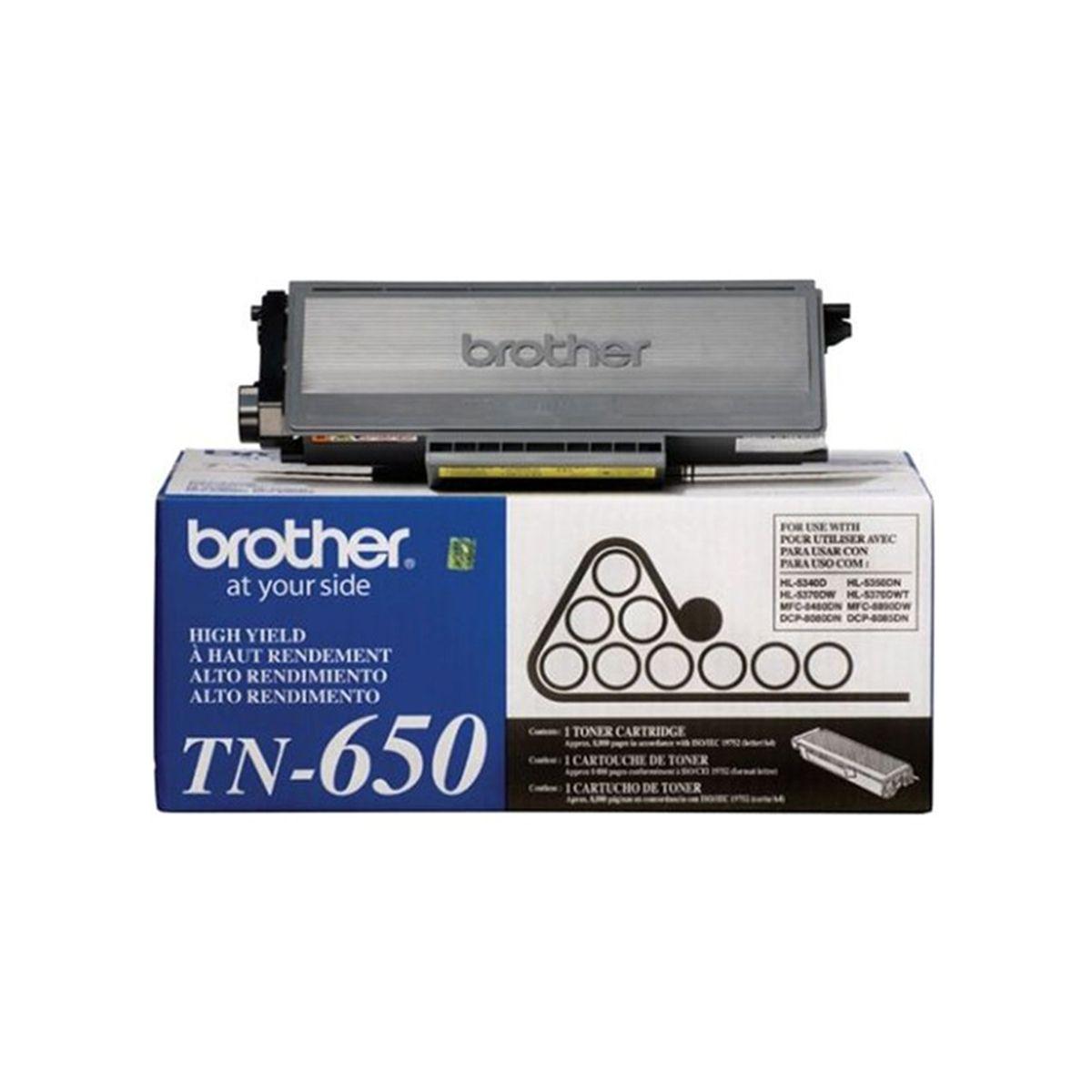 Toner Preto Original Brother TN-650