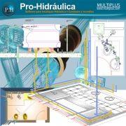 Software PRO-Hidraulica versão 16 incluindo Detalhamento e Incêndio