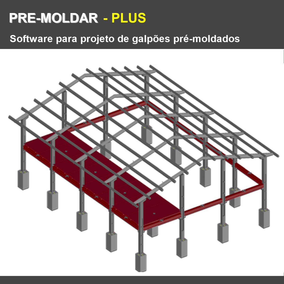 Software PRE-Moldar PLUS versão 18  - MULTIPLUS SOFTWARES