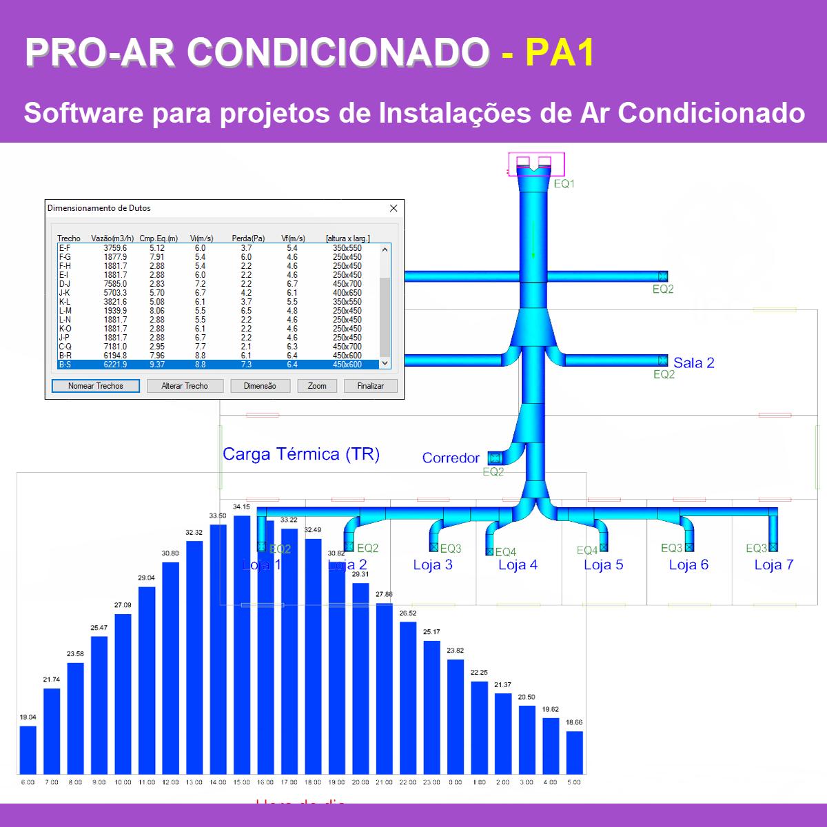 Software PRO-Ar Condicionado versão 18 Pacote PA1