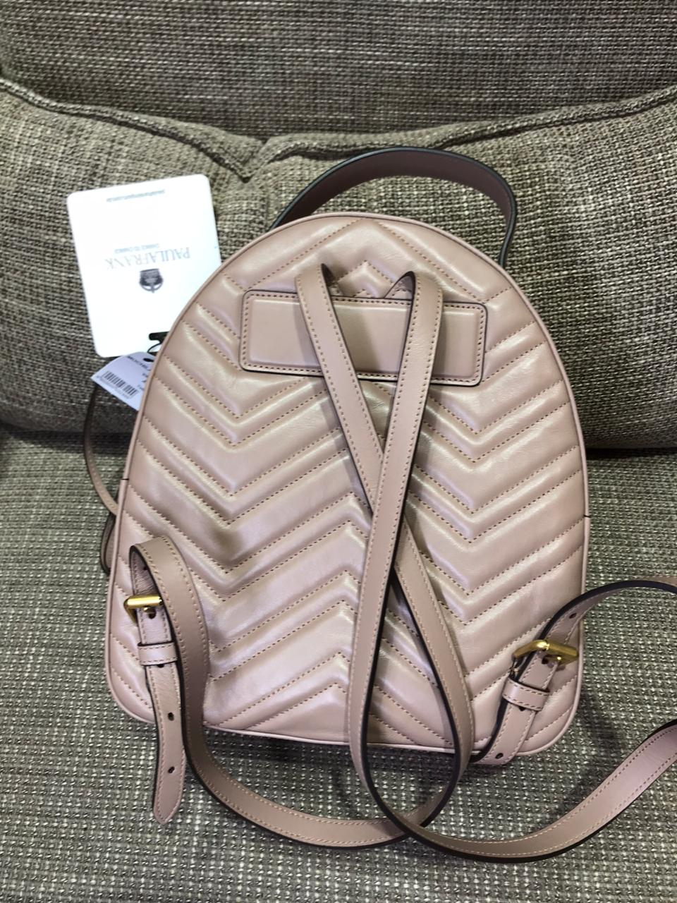 Back Pack Gucci Cinza