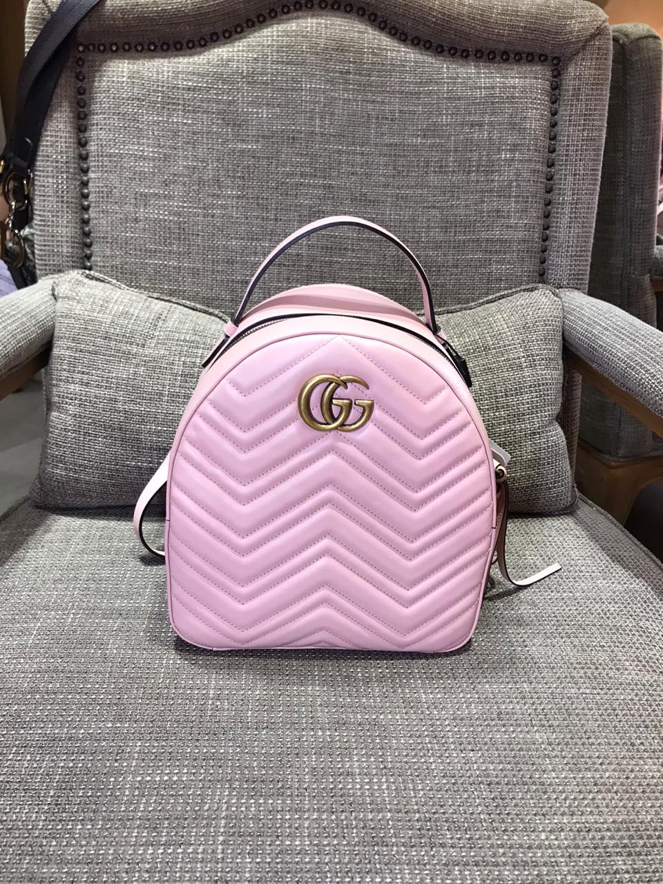 Back Pack Gucci Rosé