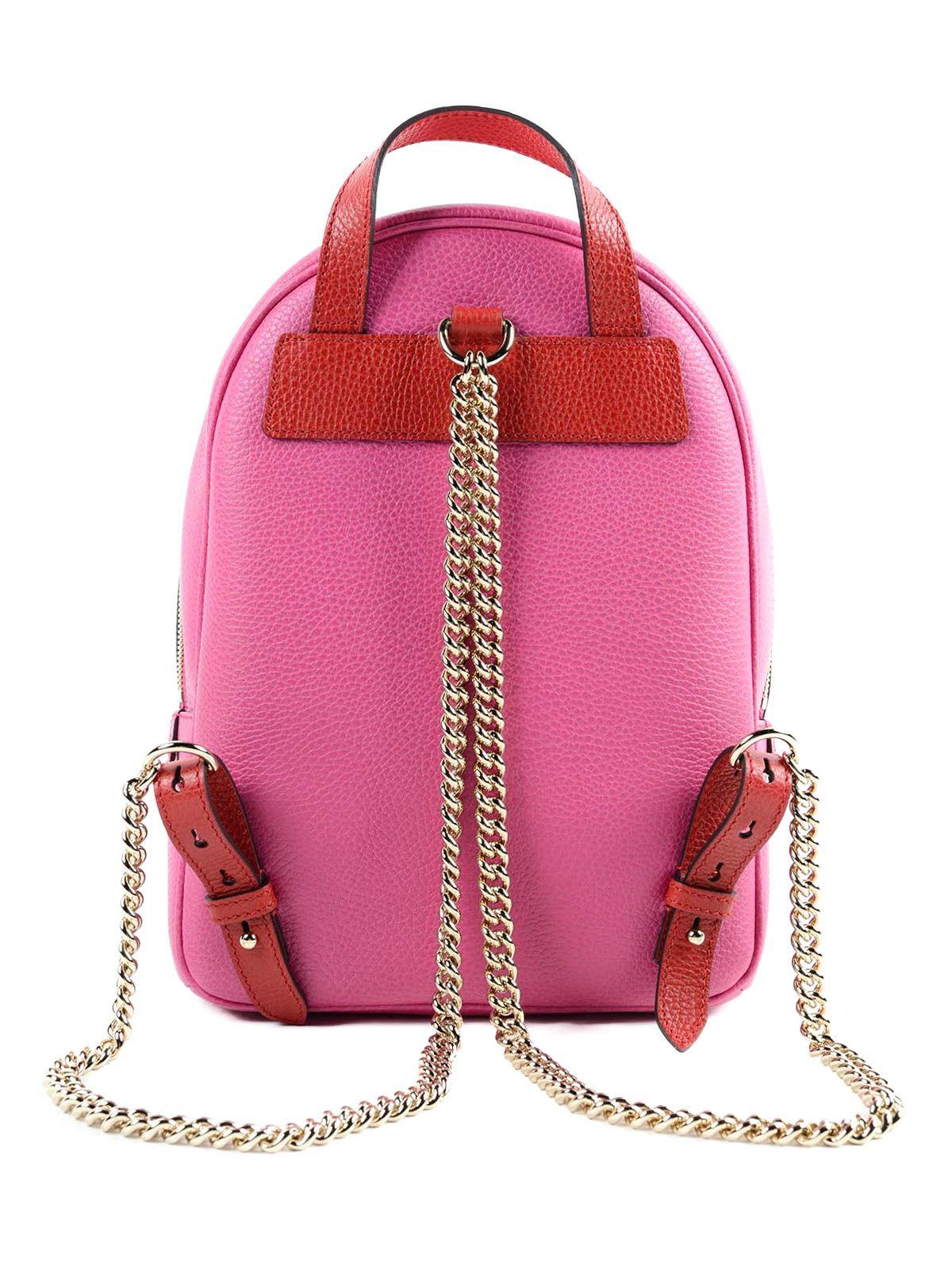 Backpack Gucci Soho Pink
