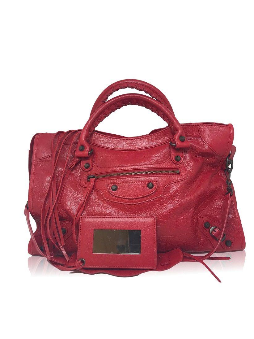 Bolsa Balenciaga City Red