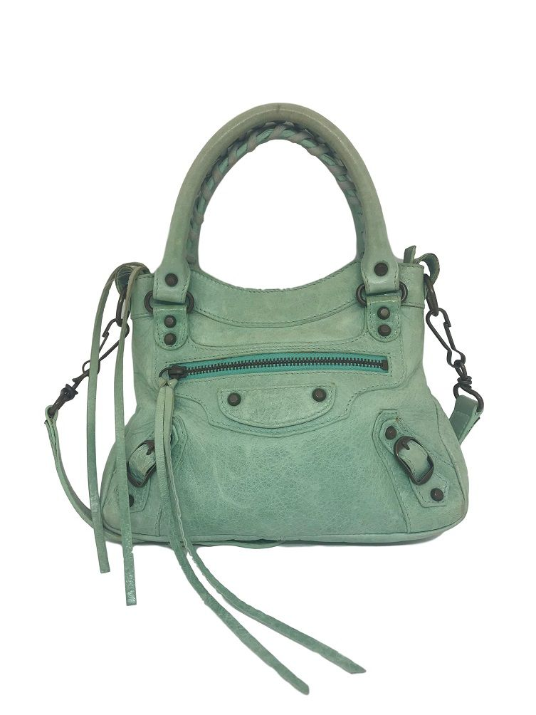 4a27375bb Bolsa Balenciaga Mini Verde - Paula Frank | Bolsas de luxo originais ...