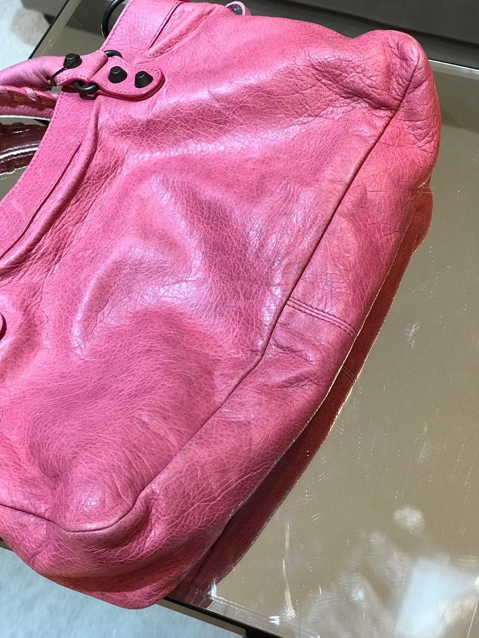 Bolsa Balenciaga Rosa Claro