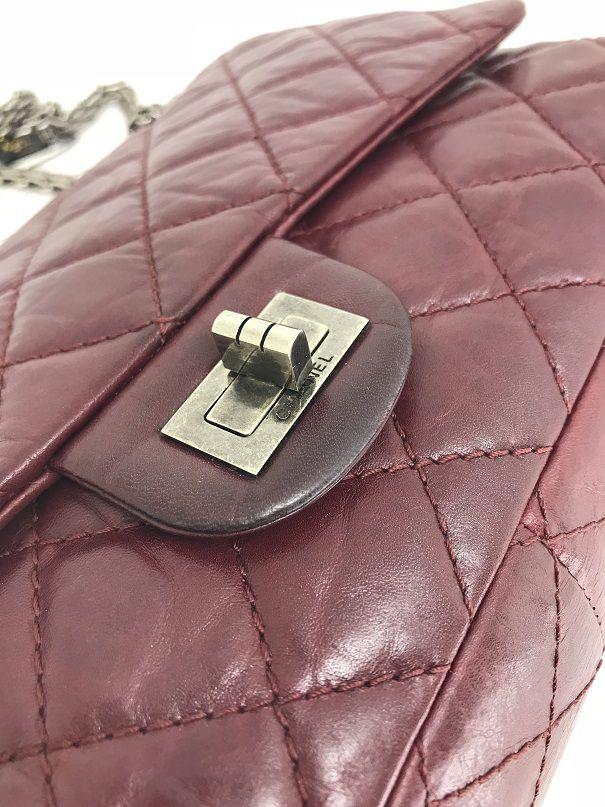 Bolsa Chanel 2.55 Vinho