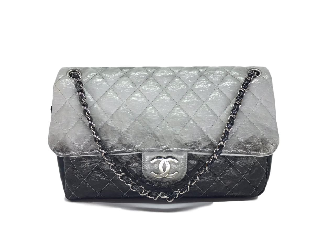 Bolsa Chanel  flap Bicolor
