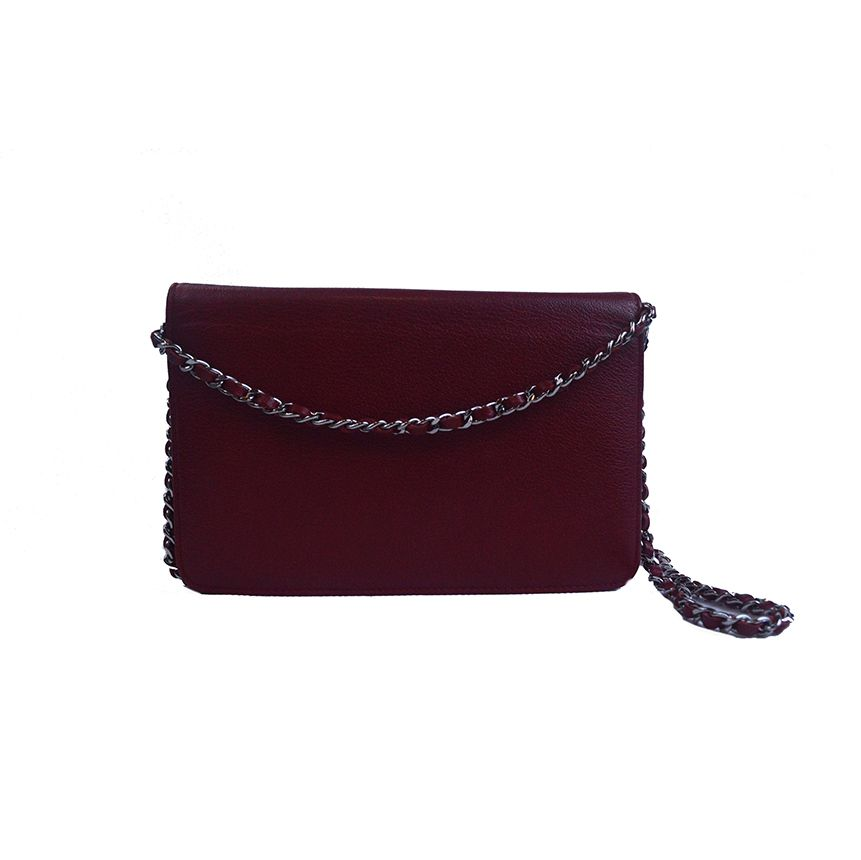 Bolsa Chanel W.O.C Vermelha