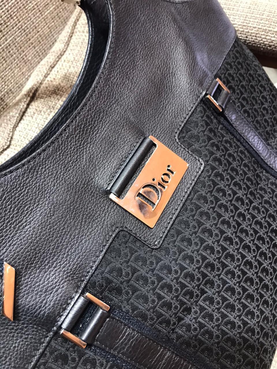 Bolsa Dior Monograma Preta
