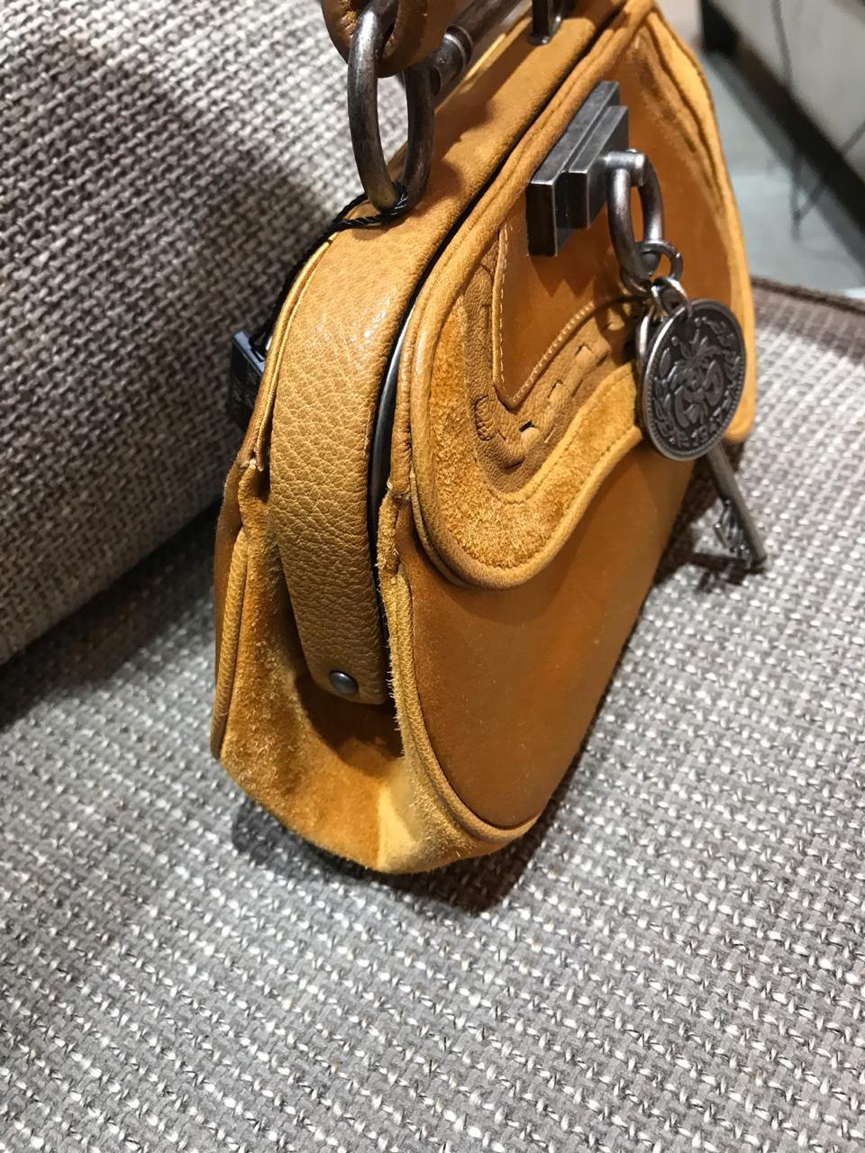 Bolsa Dior Saddle Mostarda