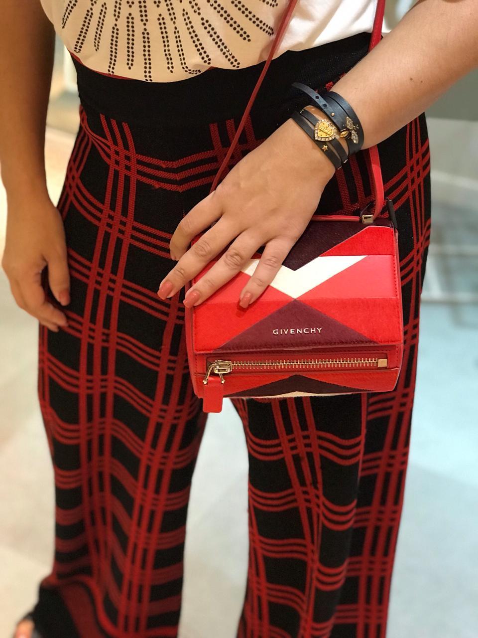 Bolsa Givenchy Graphic Cereja - Ref.2804