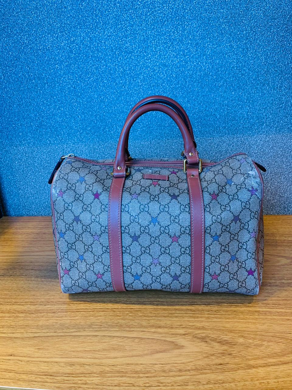 Bolsa Gucci Boston Monograma