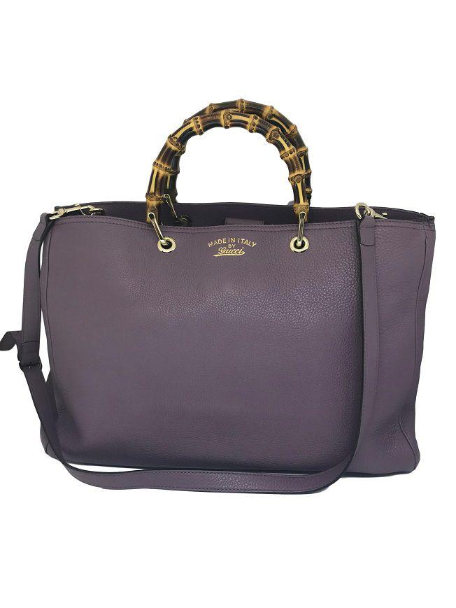 0f2709aa1 Bolsa Gucci Estruturada Lavanda - Paula Frank | Bolsas de luxo ...
