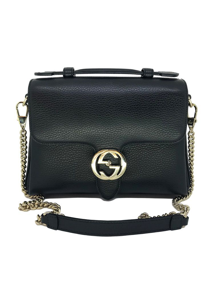 4d6179e71 Bolsa Gucci Estruturada Preta - Paula Frank | Bolsas de luxo ...
