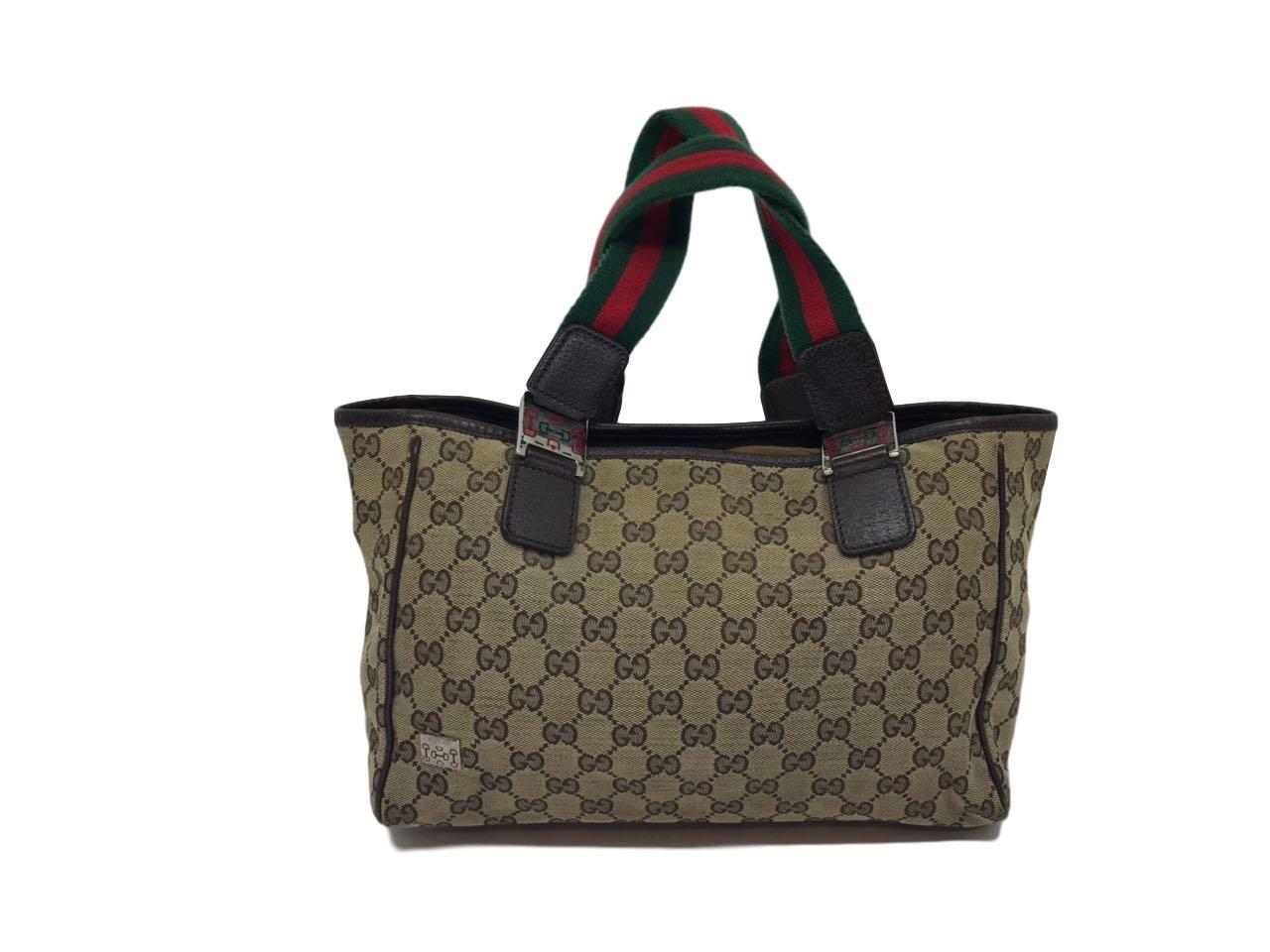 595a1ab0f Bolsa Gucci Monograma listras - Paula Frank | Bolsas de luxo ...