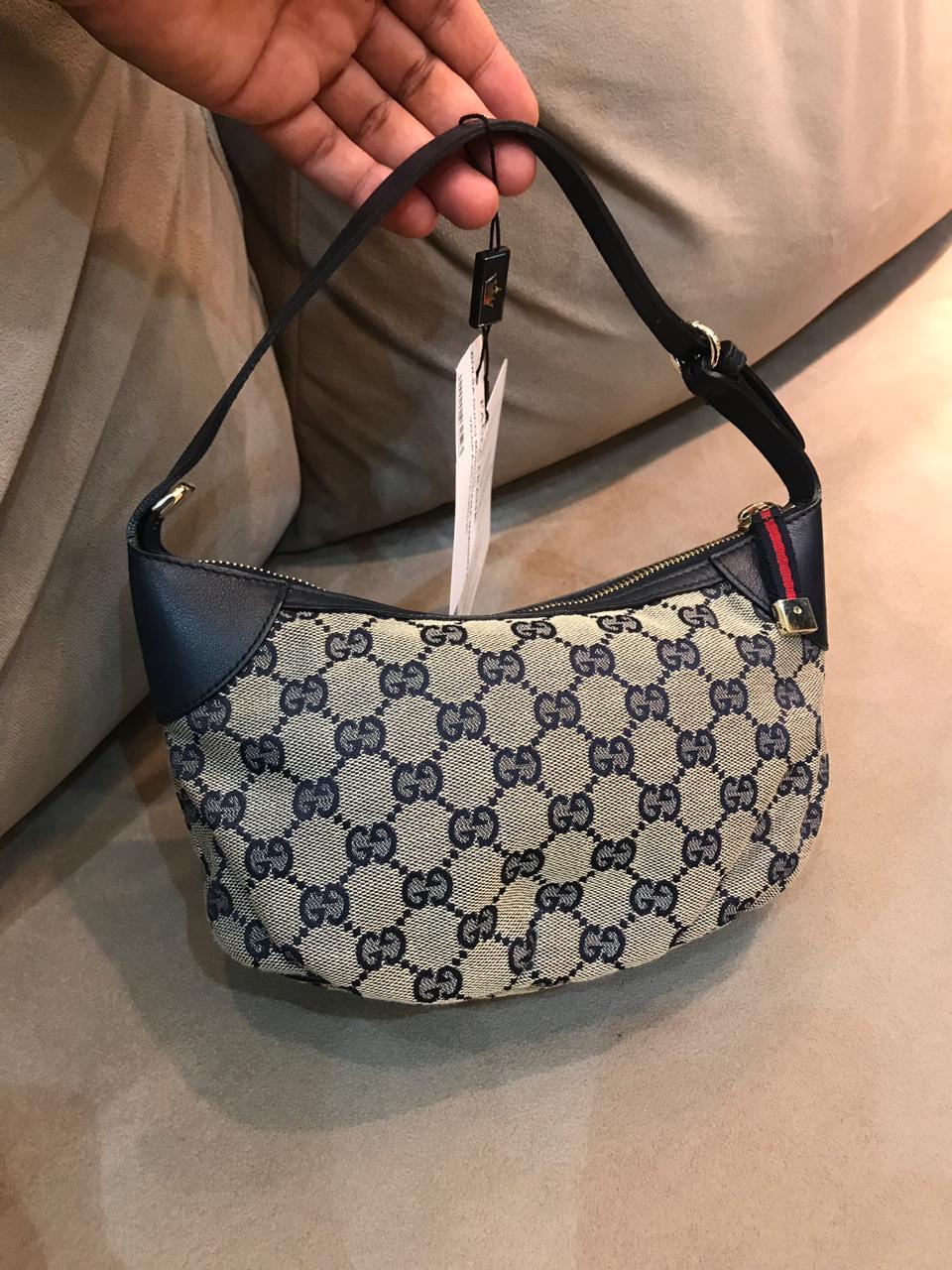 Bolsa Gucci Monograma Mini