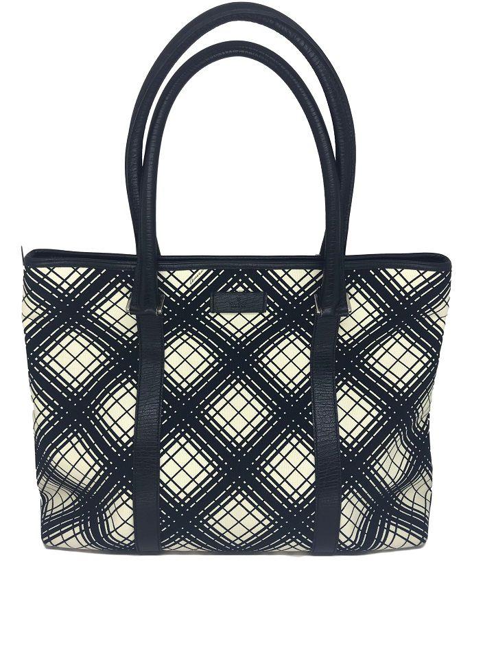 d10e081ec Bolsa Gucci Preta e Branca - Paula Frank | Bolsas de luxo originais ...