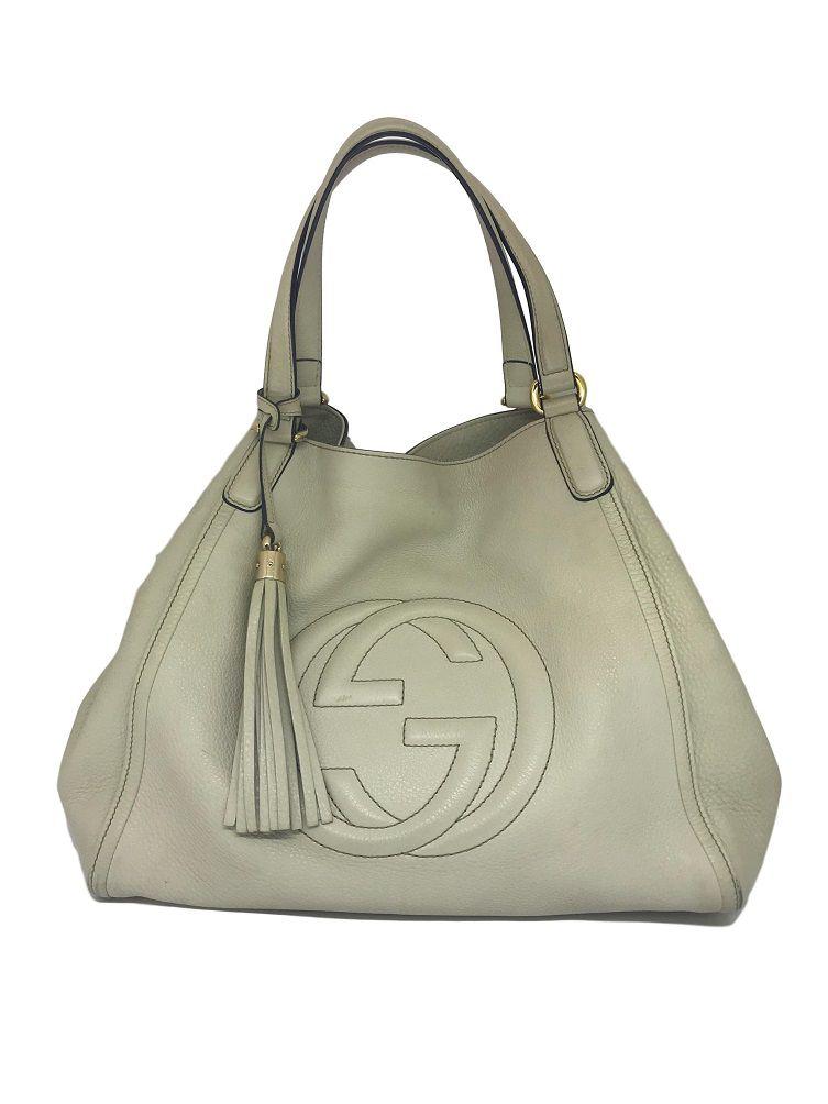 Bolsa Gucci Soho GG Off White