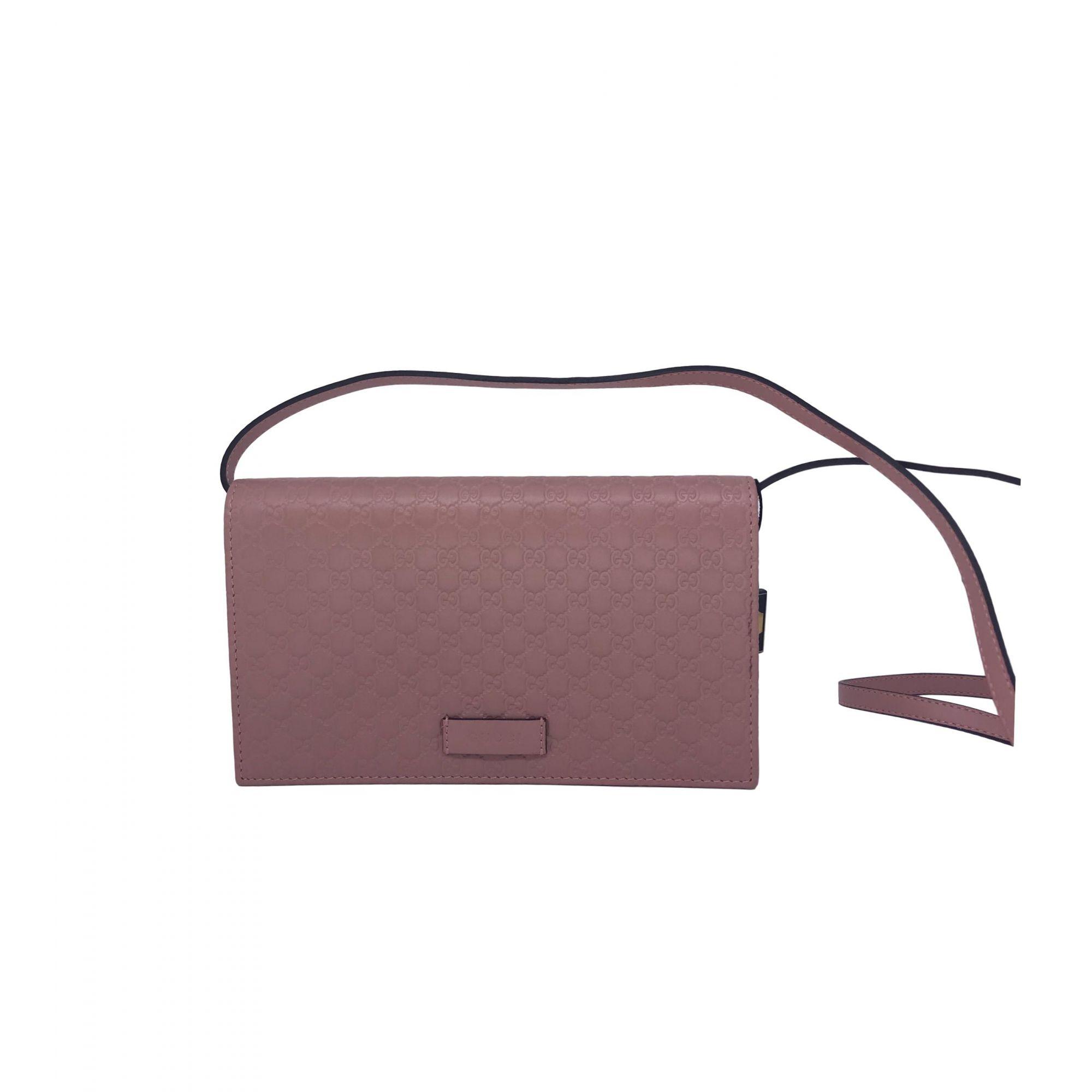 Bolsa Gucci Wallet Rosé