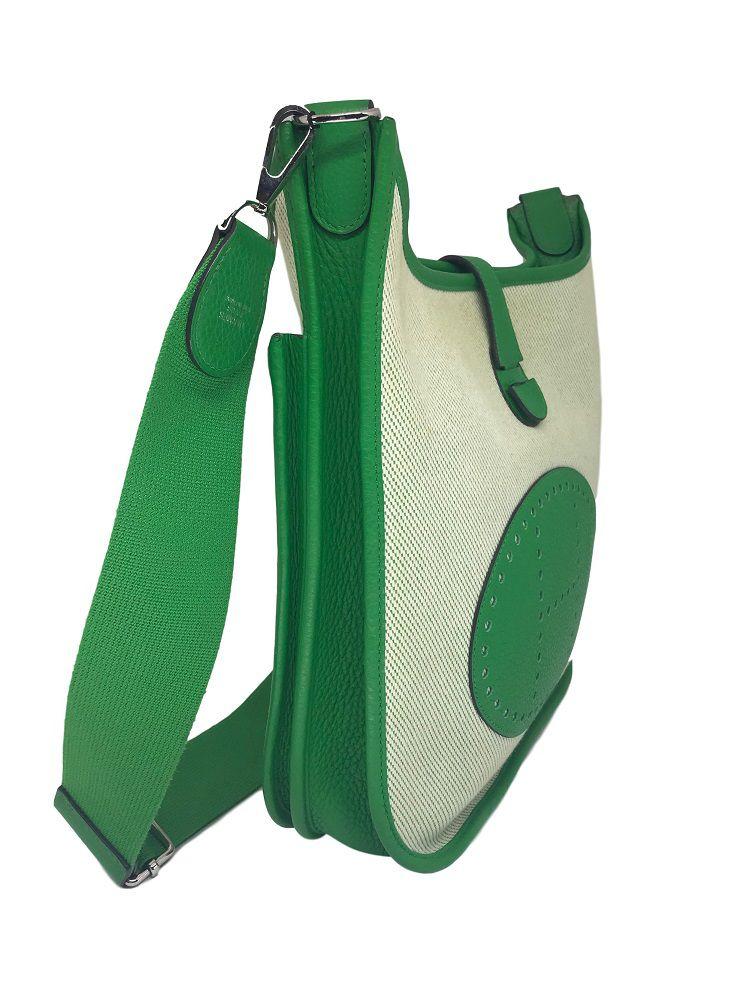 Bolsa Hermès Evelyne Verde