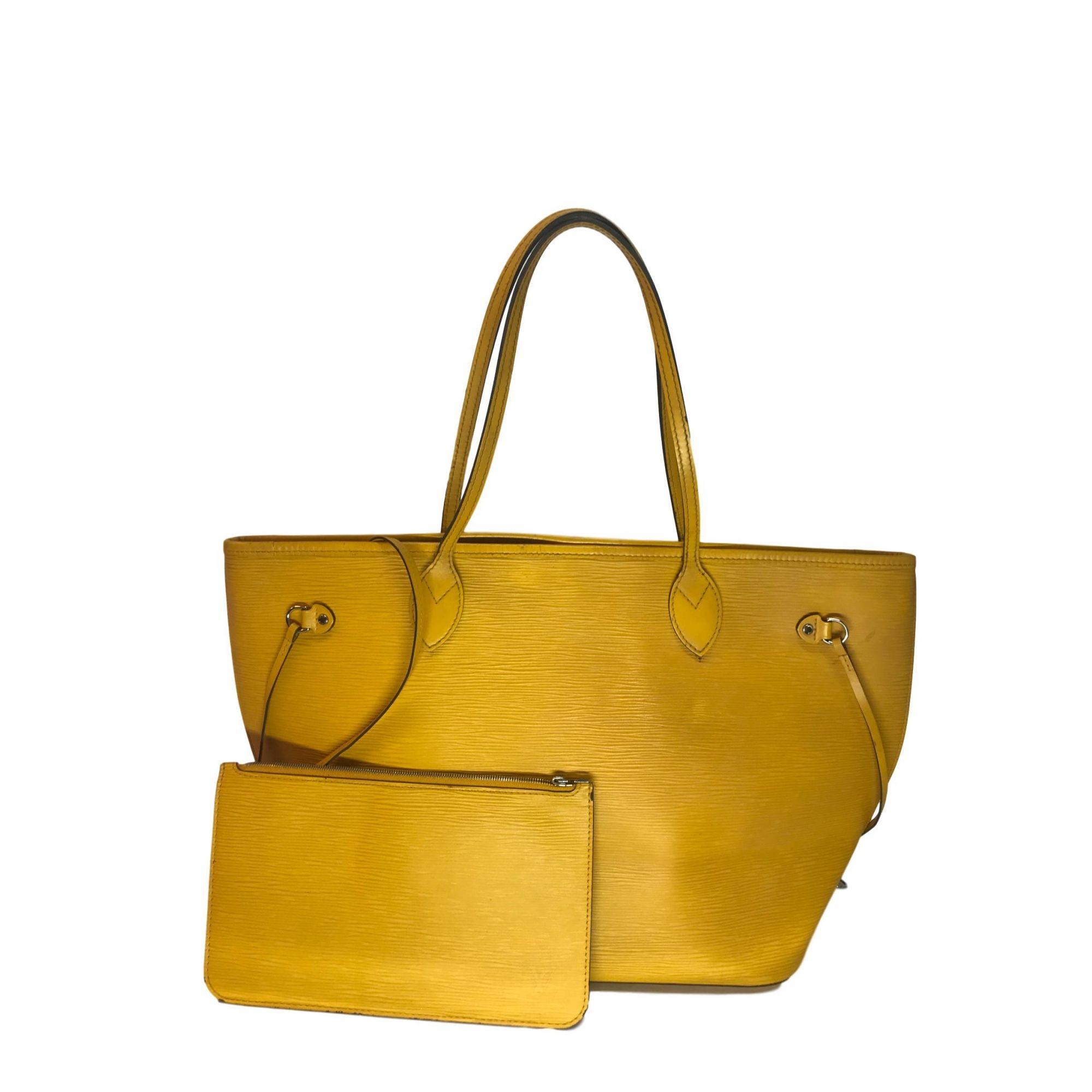 Bolsa Louis Vuitton EPI Amarela