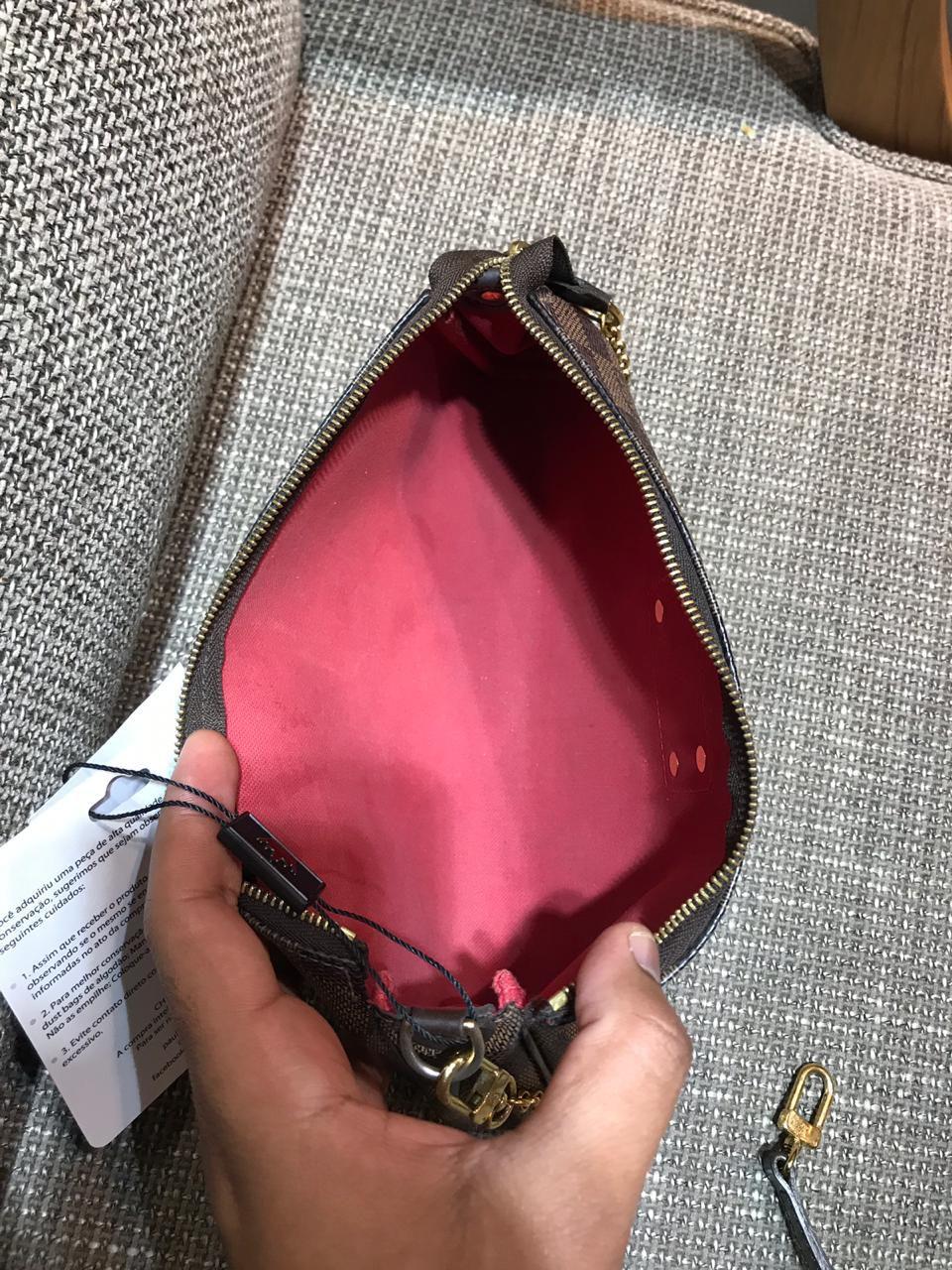 Bolsa Louis Vuitton Eva Damier