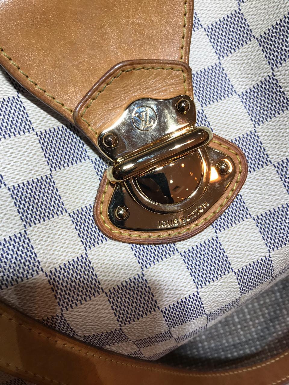 Bolsa Louis Vuitton GG Damier Azul
