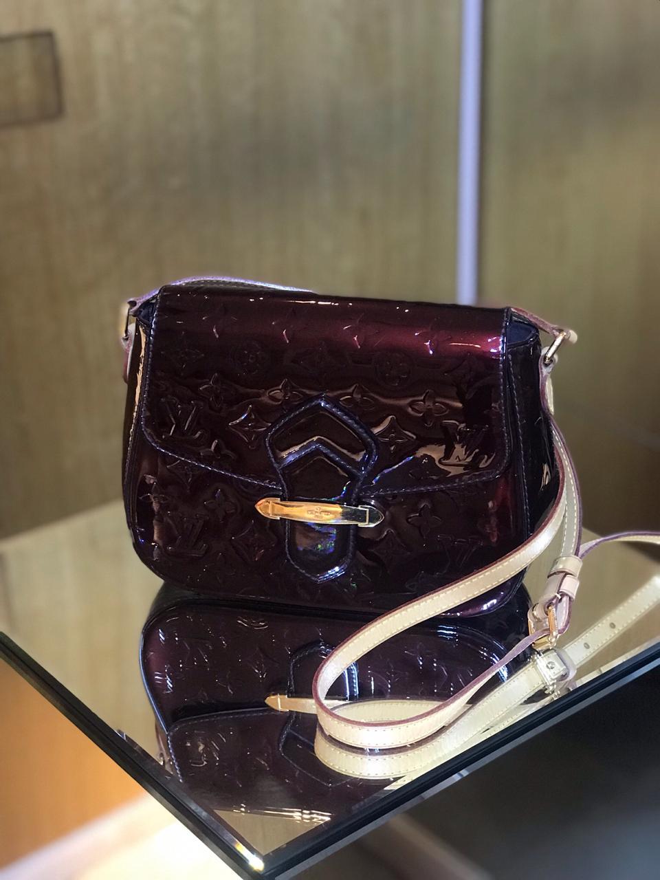 Bolsa Louis Vuitton Monograma Verniz