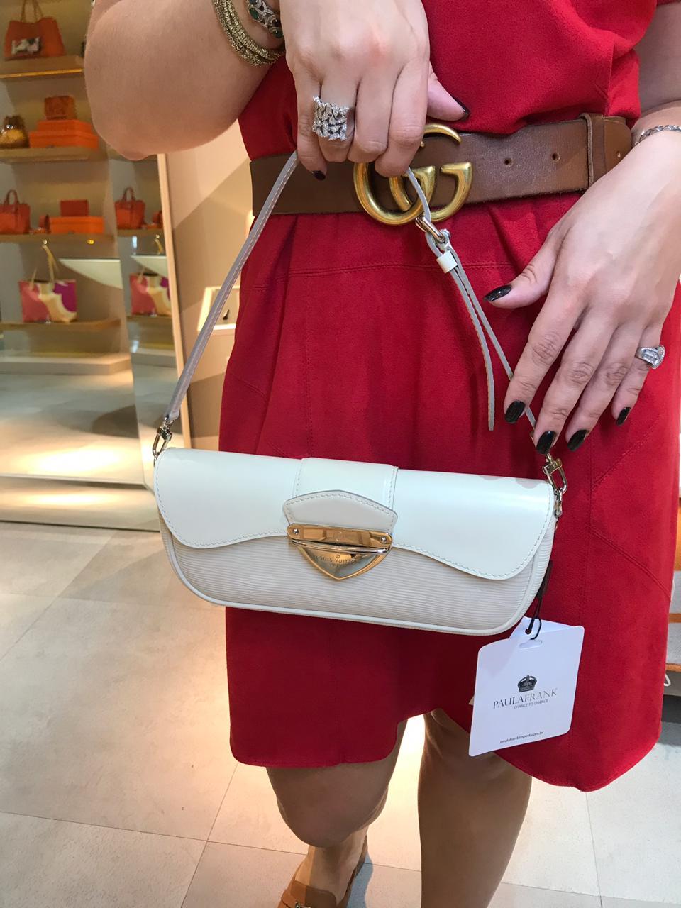 Bolsa Louis Vuitton Off/White Pequena