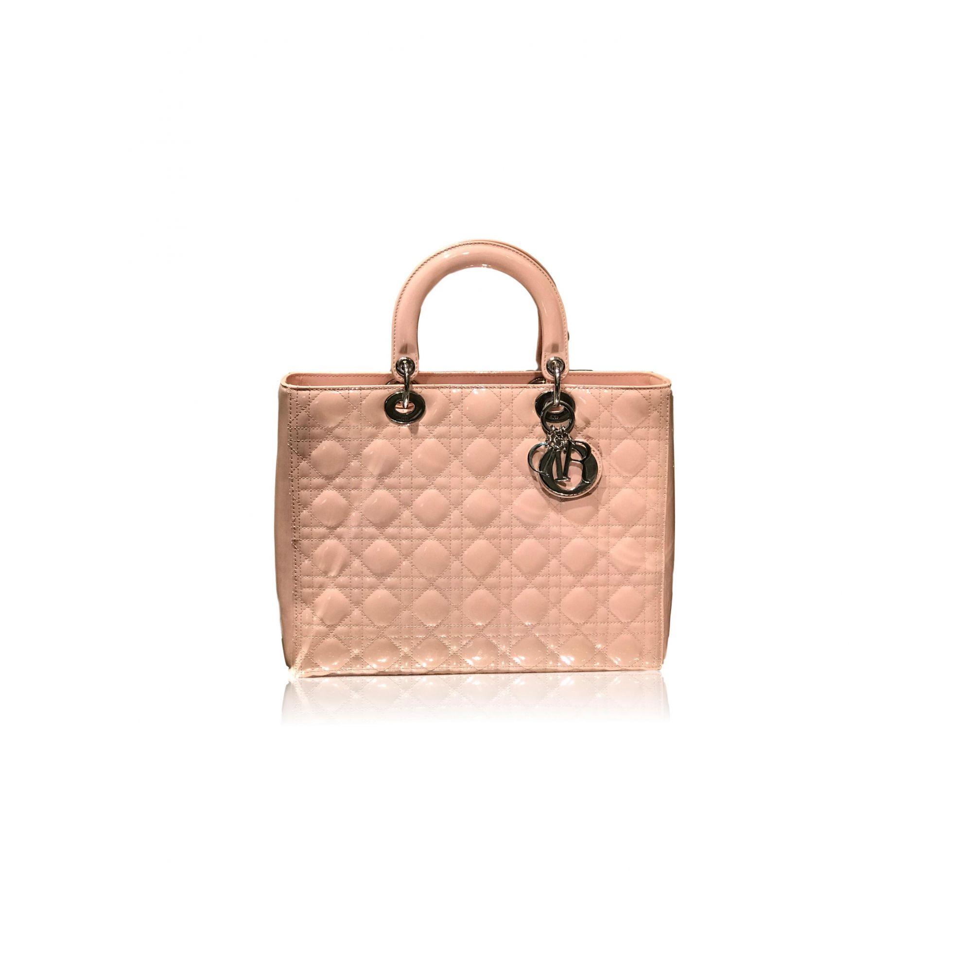 Bolsa Lady Dior Rosa Claro