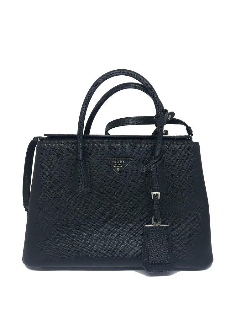 Bolsa Prada Double Bag Preta