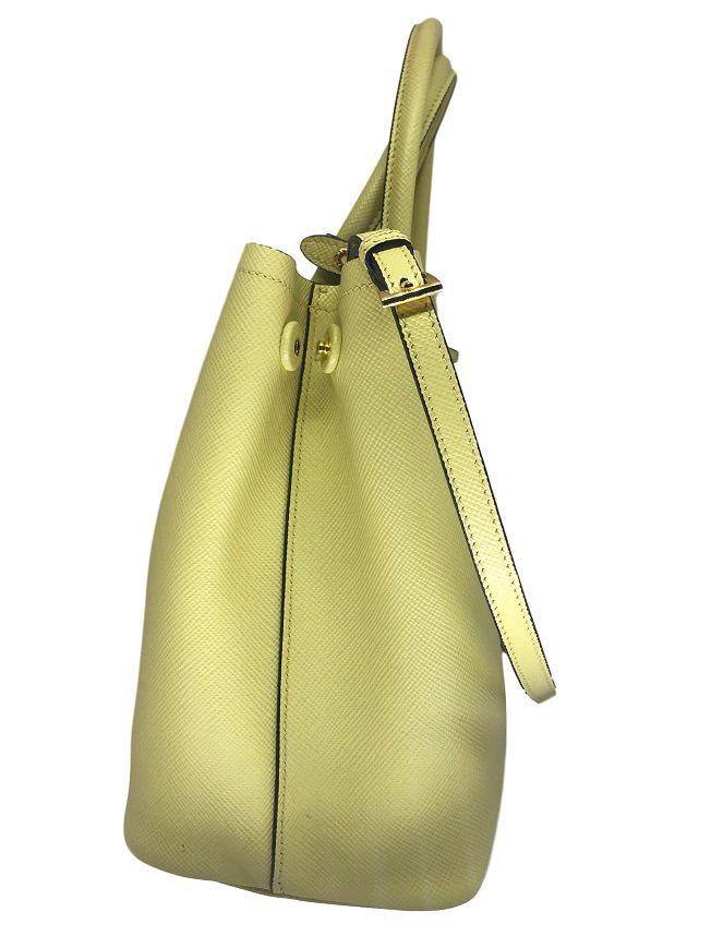 Bolsa Prada Saffiano Yellow