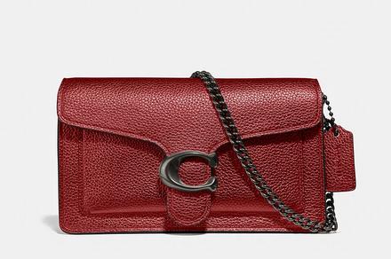 Bolsa Tabby Chain Vermelha