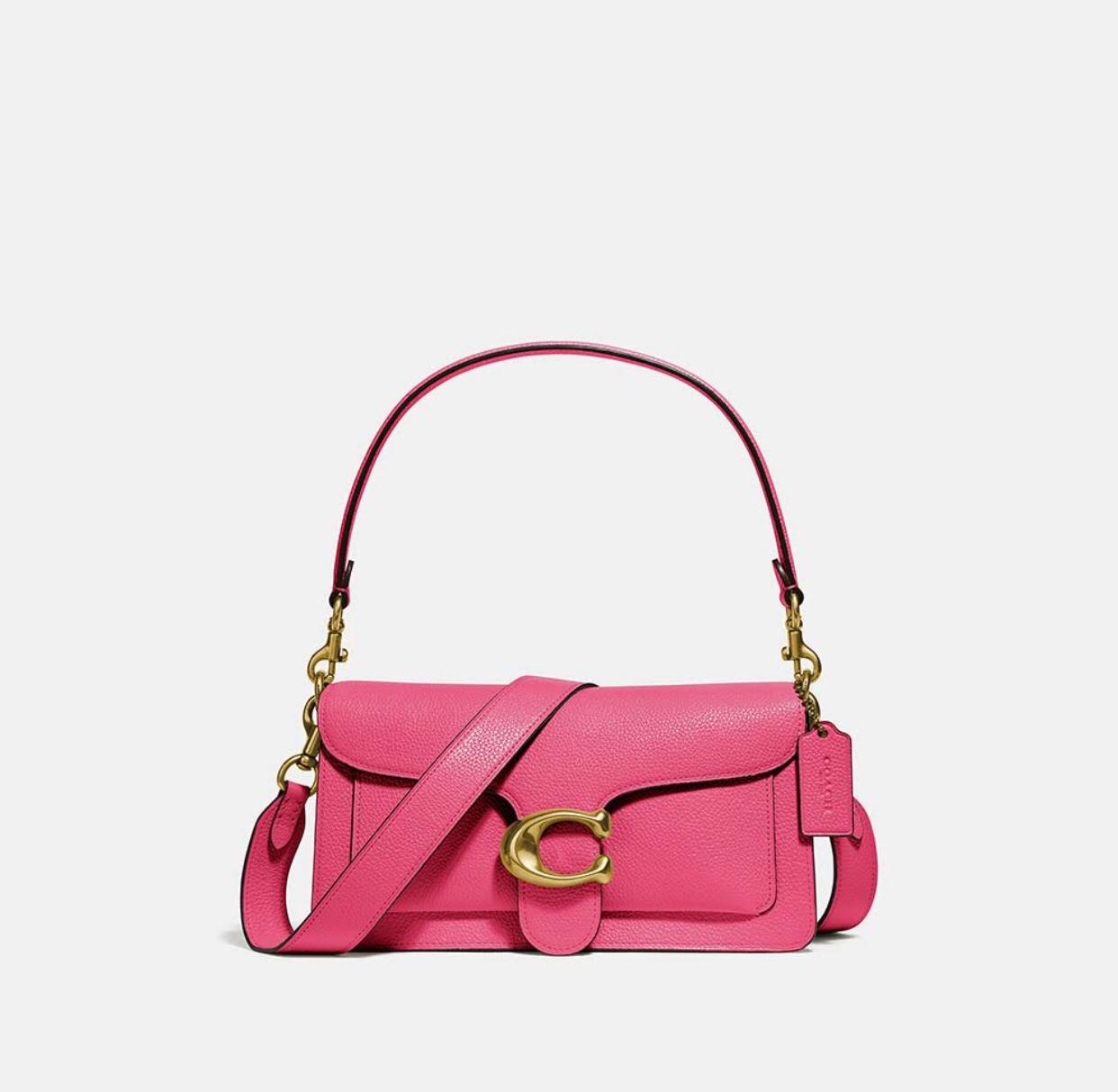 Bolsa Tabby 26 Coach Pink