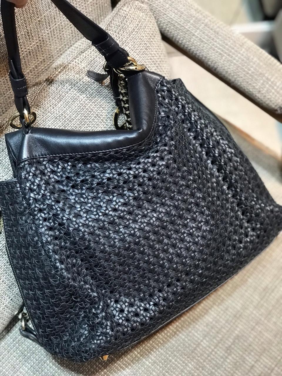 Bolsa Versace Preta Maxi