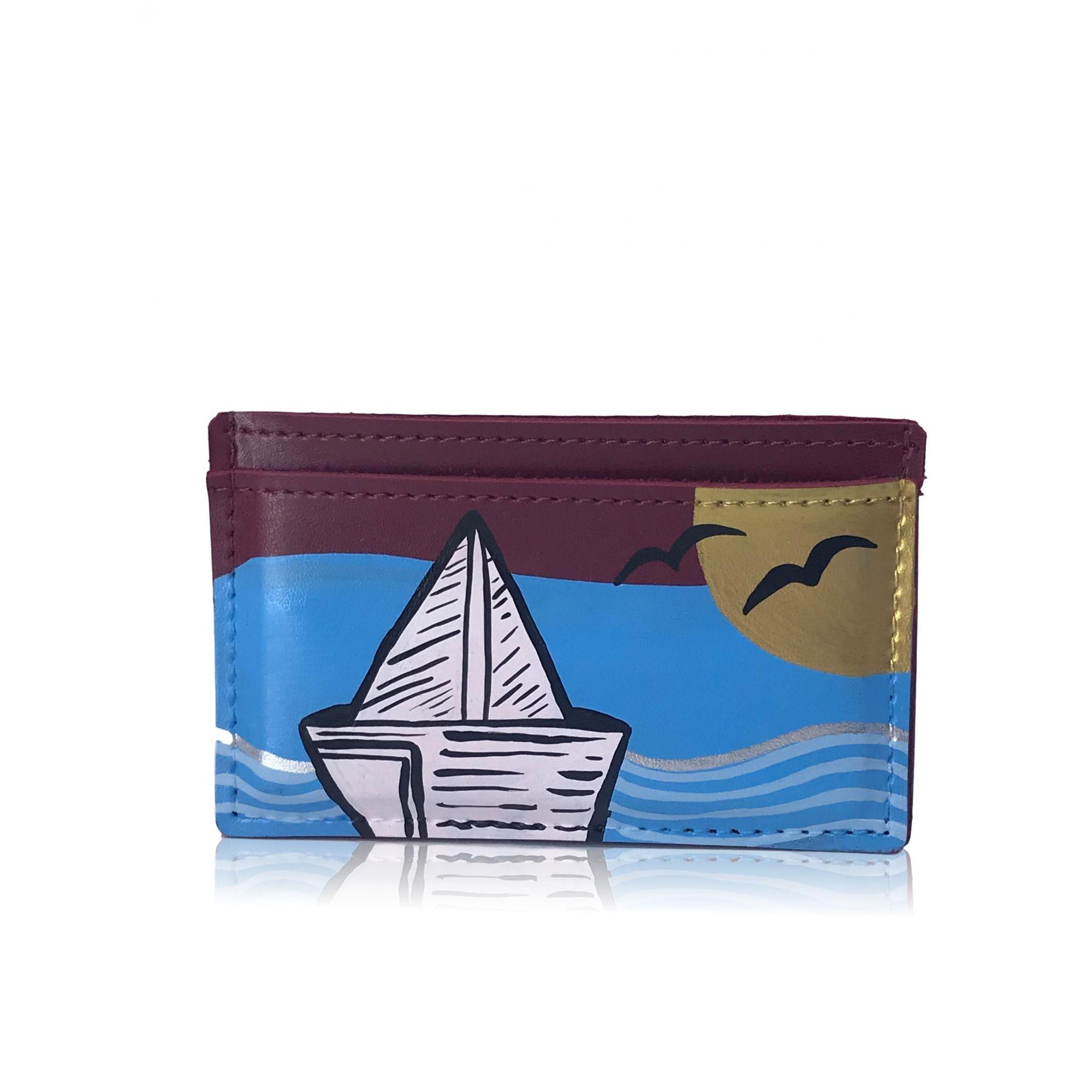 Card Hold Paula Frank Boat