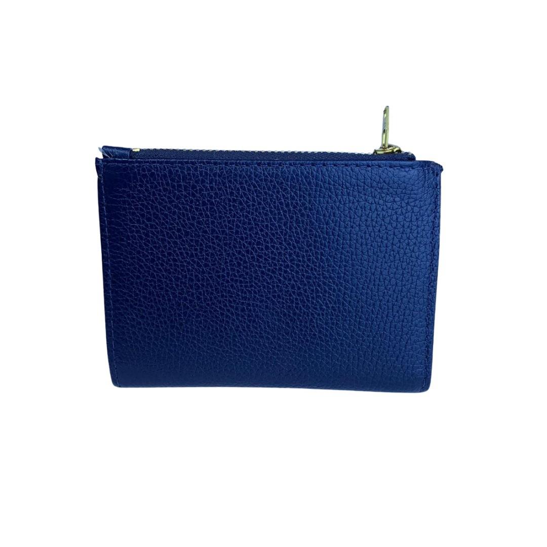 Carteira Compacta Paula Frank - Azul