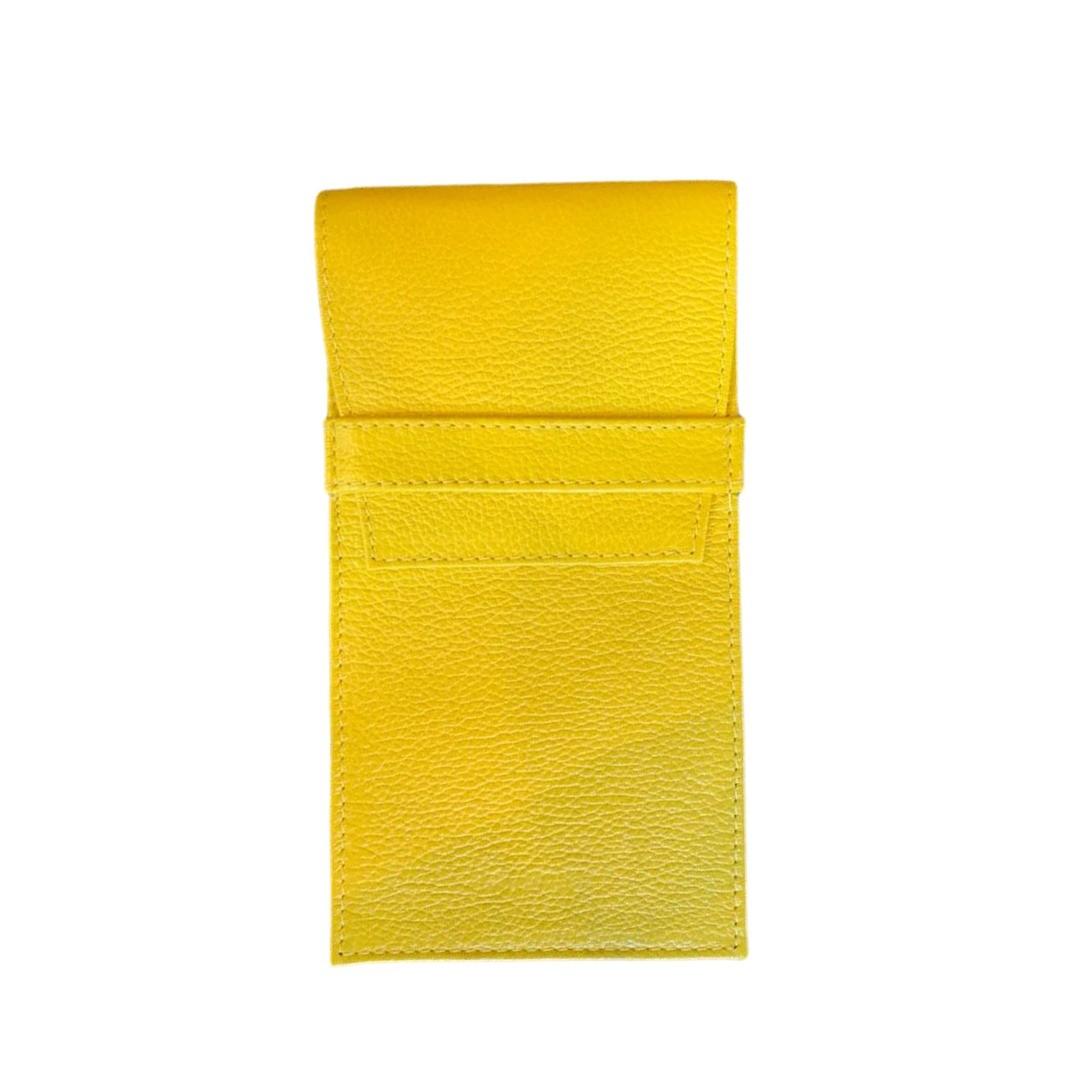 Porta Óculos Envelope Paula Frank - Amarelo