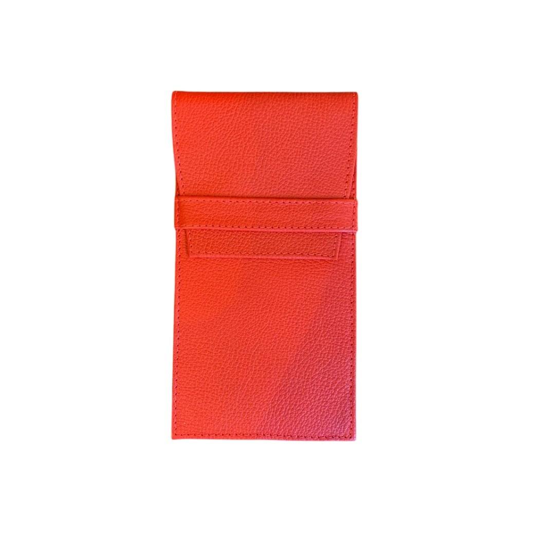 Porta Óculos Envelope Paula Frank - Vermelho