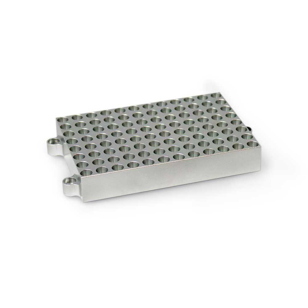Bloco Para 96 Tubos De 0,2 Ml Compatível Com K80-100 e K80-200