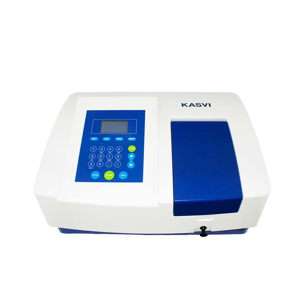 Espectrofotômetro Faixa Uv/visível 190 - 1100 Nm. Bivolt