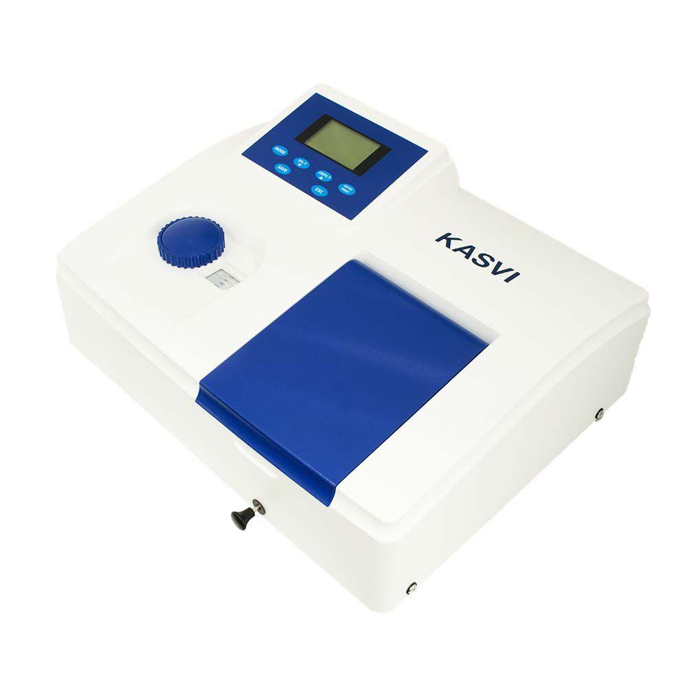 Espectrofotômetro Faixa Visível 320 - 1020 Nm. Bivolt