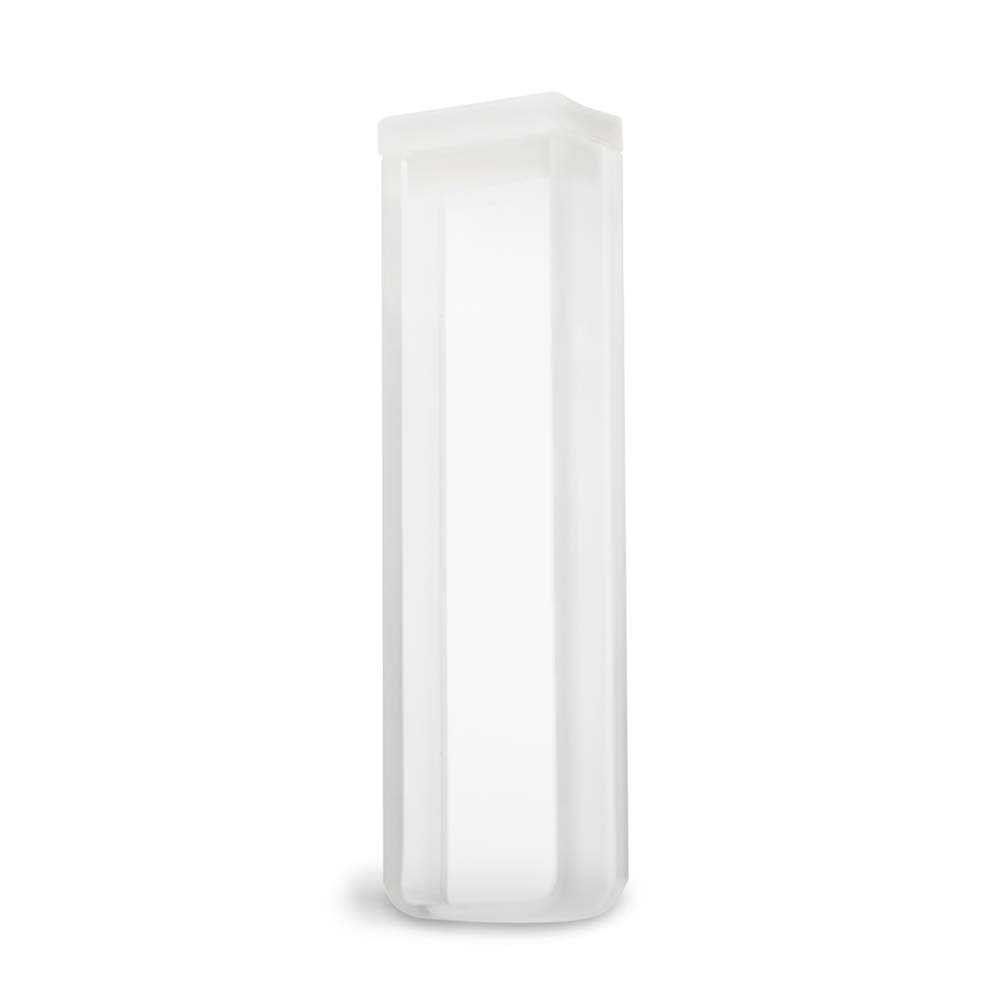 Cubeta Em Vidro Óptico 2 Faces Polidas Passo 5 Mm Volume 1,7 Ml