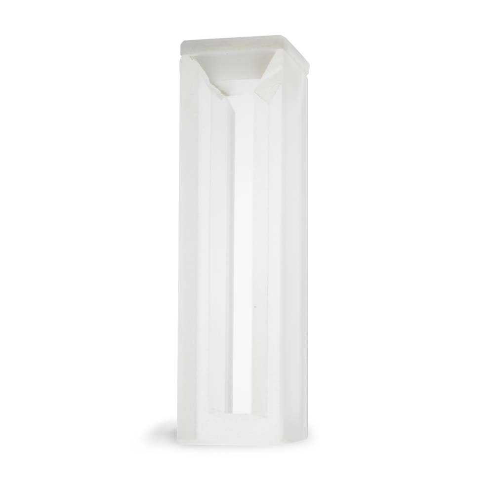 Cubeta Em Vidro Óptico 2 Faces Polidas Passo 10 Mm Volume 1,7 Ml