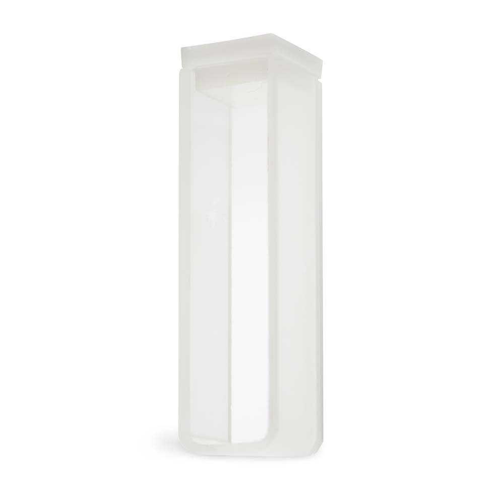 Cubeta Em Quartzo Es 2 Faces Polidas Passo 10 Mm Volume 3,5 Ml