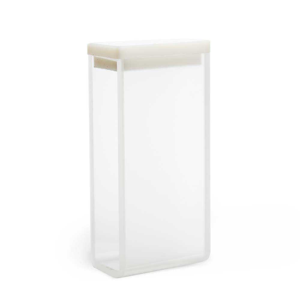Cubeta Em Vidro Óptico 2 Faces Polidas Passo 20 Mm Volume 7,0 Ml