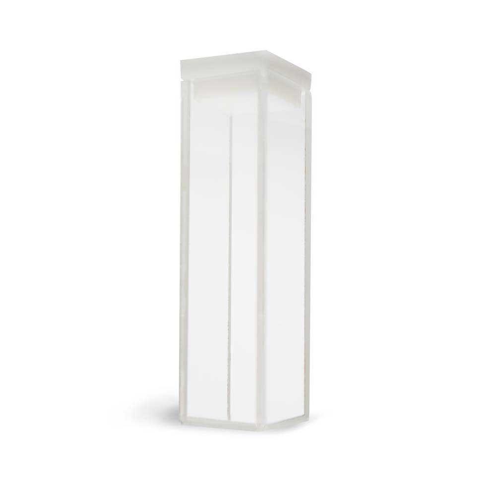 Cubeta Em Vidro Óptico 4 Faces Polidas Passo 10 Mm Volume 3,5 Ml