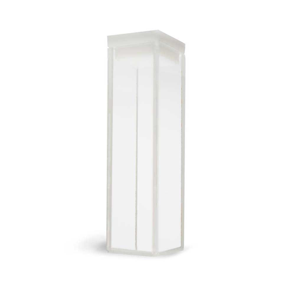 Cubeta Em Quartzo Es 4 Faces Polidas Passo 10 Mm Volume 3,5 Ml